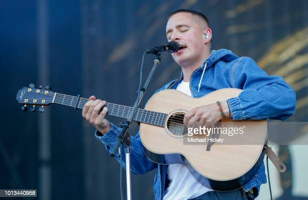 Dermot Kennedy peforms on day two of Lollapalooza at Grant Park on August 3 2018 in Chicago Illinois