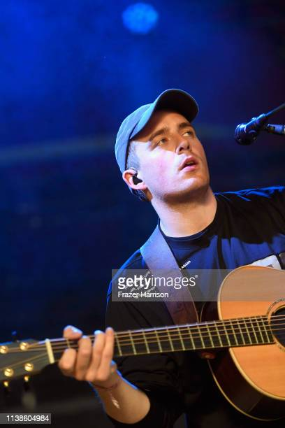 Dermot Kennedy performs at Gobi Tent during the 2019 Coachella Valley Music And Arts Festival on April 21 2019 in Indio California