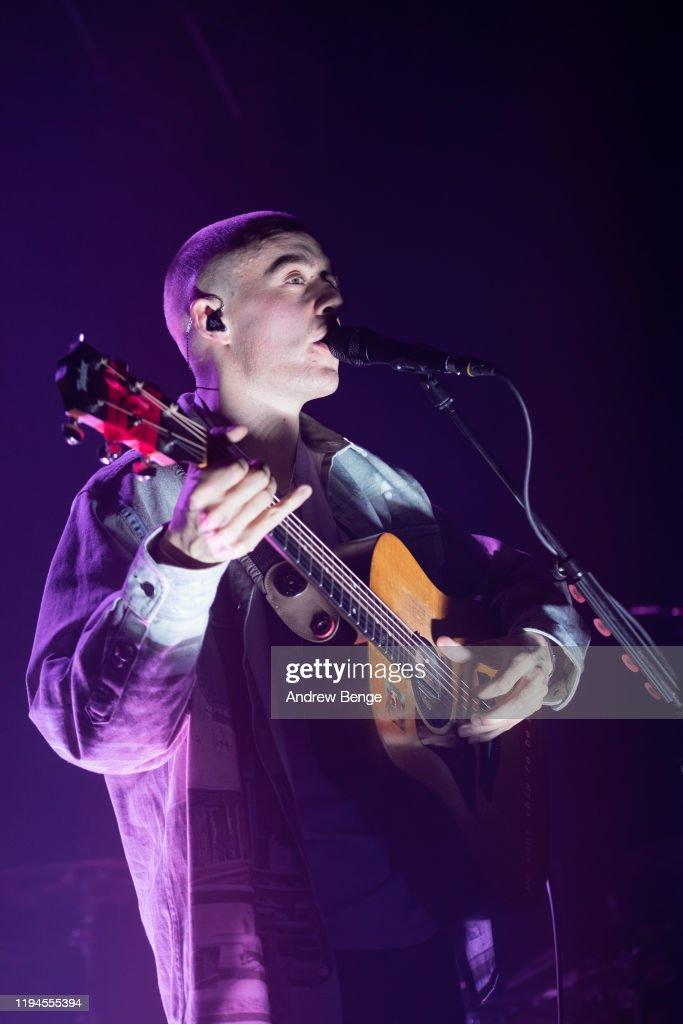 Dermot Kennedy Performs At O2 Academy, Leeds : Nachrichtenfoto