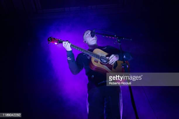 Dermot Kennedy performs at Usher Hall on December 16 2019 in Edinburgh Scotland