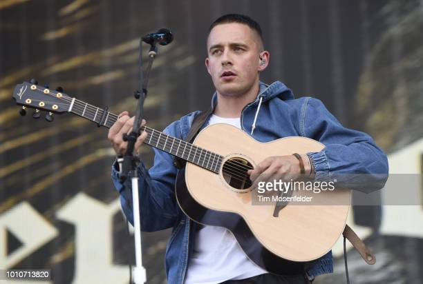 Dermot Kennedy performs during Lollapalooza 2018 at Grant Park on August 3 2018 in Chicago Illinois