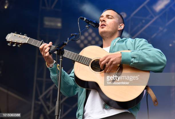 Dermot Kennedy performs during the 2018 Outside Lands Music and Arts festival at Golden Gate Park on August 10 2018 in San Francisco California