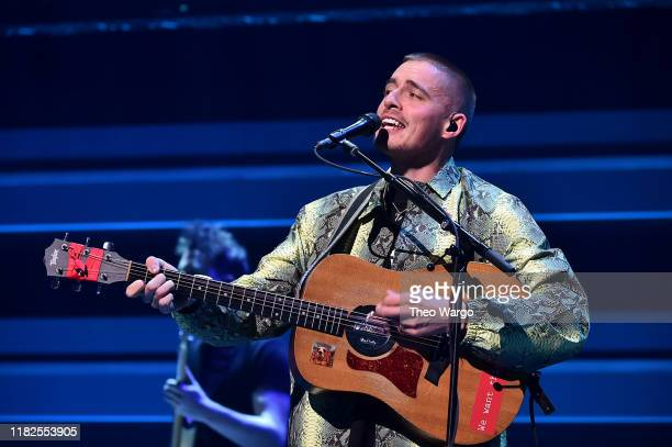 Dermot Kennedy performs during the TIDAL's 5th Annual TIDAL X Benefit Concert TIDAL X Rock The Vote At Barclays Center Show at Barclays Center of...