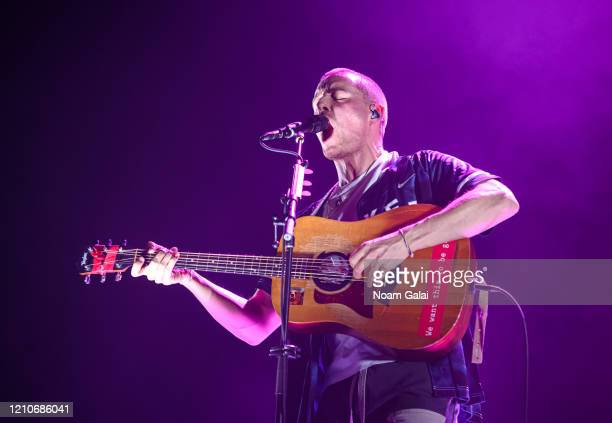 Dermot Kennedy performs in concert at Radio City Music Hall on March 05, 2020 in New York City.