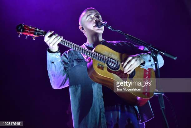 Dermot Kennedy performs in support of his Without Fear release at The Masonic on January 30 2020 in San Francisco California