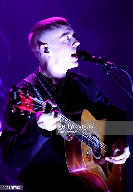Dermot Kennedy performs on stage at Eventim Apollo on December 02 2019 in London England