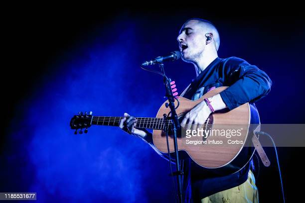 Dermot Kennedy performs on stage at Fabrique Club on November 4 2019 in Milan Italy