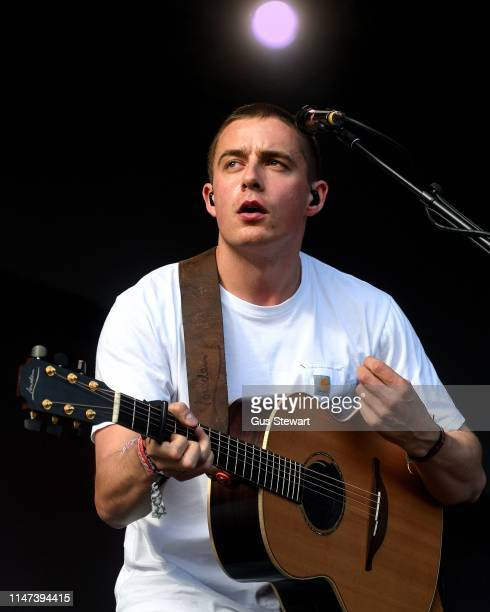 Dermot Kennedy performs on the North stage at All Points East Festival in Victoria Park on June 1 2019 in London England