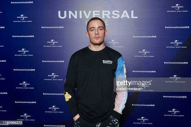 Dermot Kennedy poses for a photo during Universal Inside 2019 organized by Universal Music Group at Verti Music Hall on September 4 2019 in Berlin...
