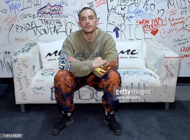 Dermot Kennedy visits Music Choice at Music Choice on July 11 2019 in New York City