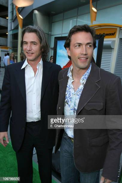 Dermot Mulroney and Andrew Shue during Picturehouse Gracie Los Angeles Premiere at Arclight Cinemas in Hollywood California United States
