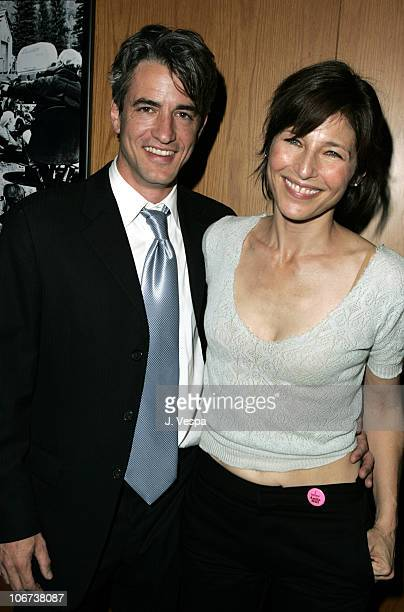 Dermot Mulroney and Catherine Keener aattend the Palisades Pictures screening of Going Upriver The Long War of John Kerry to kick off its college...