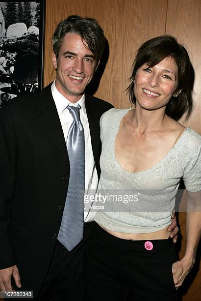 Dermot Mulroney and Catherine Keener attend the Palisades Pictures screening of Going Upriver The Long War of John Kerry to kick off its college tour...
