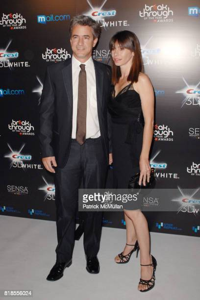 Dermot Mulroney and Tharita Catulle attend BREAKTHROUGH OF THE YEAR AWARDS PRESENTED BY CREST 3D WHITE at 5900 Wilshire Boulevard on August 15 2010...