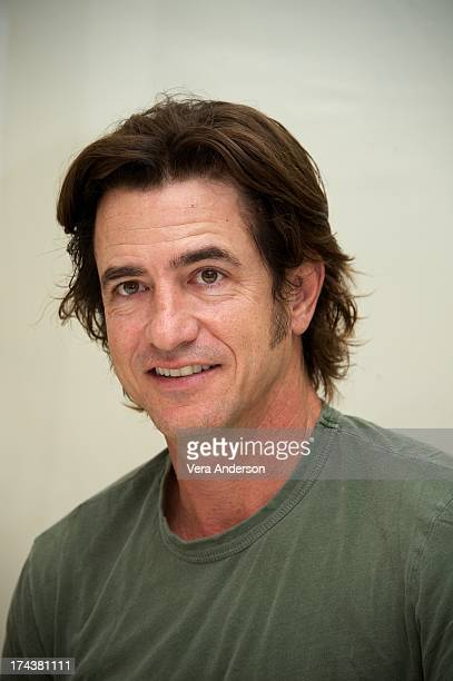 """Dermot Mulroney at the """"Jobs"""" Press Conference at the Four Seasons Hotel on July 24, 2013 in Beverly Hills, California."""