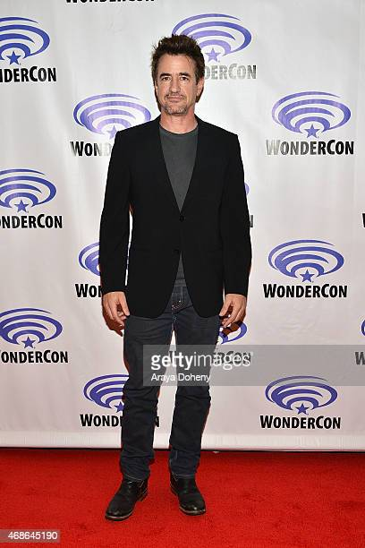 Dermot Mulroney attend 'Insidious Chapter 3' Cast and Filmmakers press line at Anaheim Convention Center on April 4 2015 in Anaheim California