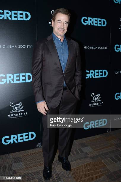 "Dermot Mulroney attends The Cinema Society & Monkey 47 Host A Special Screening Of Sony Pictures Classics' ""Greed"" at Cinepolis Chelsea on February..."