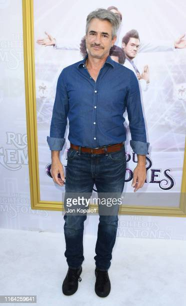 Dermot Mulroney attends the Los Angeles Premiere Of New HBO Series The Righteous Gemstones at Paramount Studios on July 25 2019 in Hollywood...