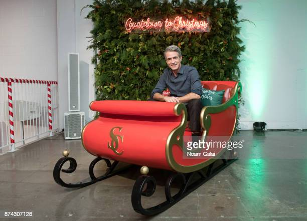 Dermot Mulroney attends the opening of Hallmark's Museum of Christmas on November 14, 2017 in New York City.