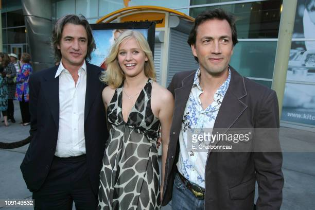 Dermot Mulroney Carly Schroeder and Andrew Shue during Picturehouse Gracie Los Angeles Premiere at Arclight Cinemas in Hollywood California United...