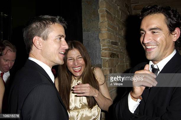 Dermot Mulroney Catherine Keener and Ben Chaplin during 'About Schmidt' Premiere AfterParty at Man Ray at Man Ray in New York New York United States