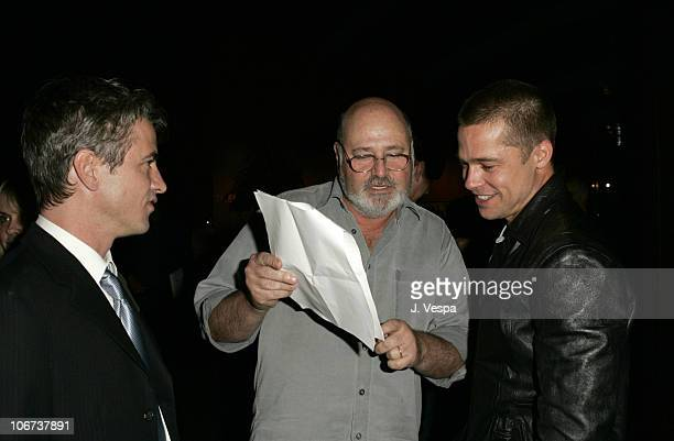 Dermot Mulroney Rob Reiner and Brad Pitt Dermot Mulroney attend the Palisades Pictures screening of Going Upriver The Long War of John Kerry to kick...