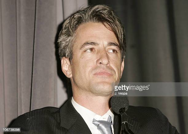 Dermot Mulroney speaks at the Palisades Pictures screening of Going Upriver The Long War of John Kerry to kick off its college tour and DVD release...