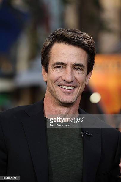 Dermot Mulroney visits Extra at The Grove on December 8 2011 in Los Angeles California