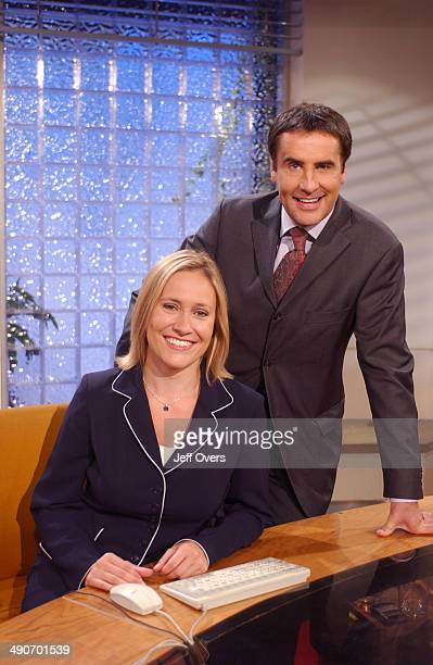 Dermot Murnaghan and Sophie Raworth