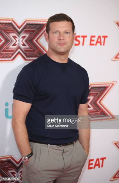 Dermot O' Leary during The X Factor series 14 red carpet press launch at Picturehouse Central on August 30 2017 in London England