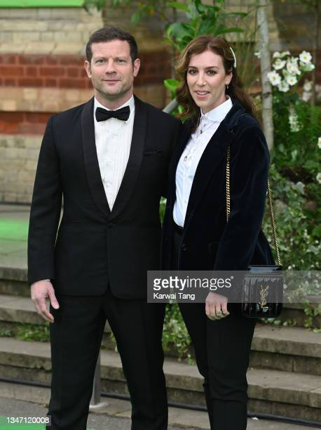 Dermot O'Leary and Dee Koppang attend the Earthshot Prize 2021 at Alexandra Palace on October 17, 2021 in London, England.