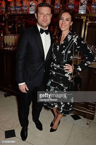 Dermot O'Leary and Dee Koppang attend The Weinstein Company Entertainment Film Distributors Studiocanal 2016 BAFTA After Party in partnership with...