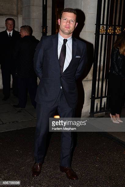 Dermot O'Leary arrives at the Grosvenor House Hotel for the pride of britain awards on October 6 2014 in London England