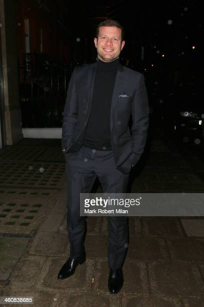 Dermot O'Leary at Claridges Hotel on January 5 2014 in London England
