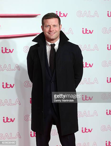Dermot O'Leary attends the ITV Gala at London Palladium on November 24 2016 in London England