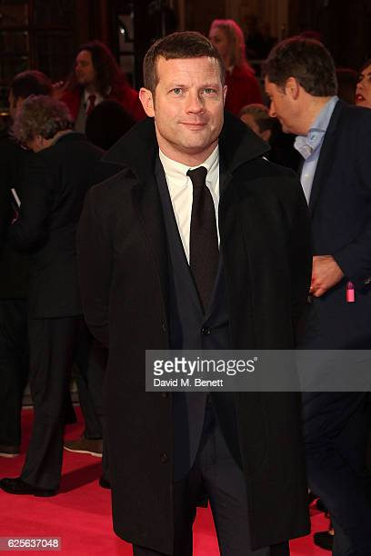 Dermot O'Leary attends the ITV Gala hosted by Jason Manford at London Palladium on November 24 2016 in London England