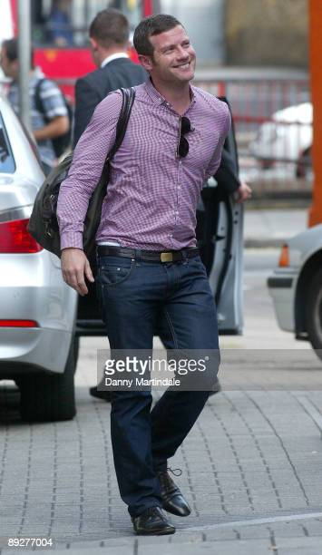 Dermot O'Leary attends the X Factor Boot Camp at the Hammersmith Apollo on July 27 2009 in London England