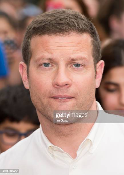 Dermot O'Leary attends the X Factor Wembley Arena auditions at Wembley on August 1 2014 in London England