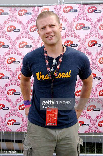 Dermott O' Leary at the Virgin Mobile Louder Lounge V Festival