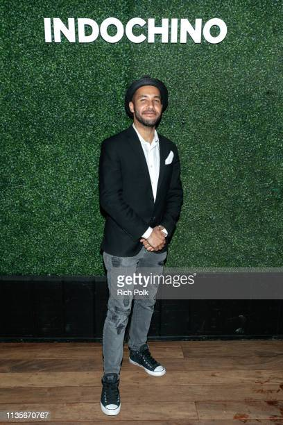 Derock Tucker attends Indochino Los Angeles Spring/Summer '19 Launch Party at SkyBar at the Mondrian Los Angeles on March 13 2019 in West Hollywood...