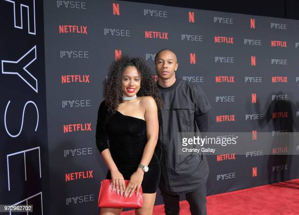 DeRon Horton attends Strong Black Lead party during Netflix FYSEE at Raleigh Studios on June 12 2018 in Los Angeles California