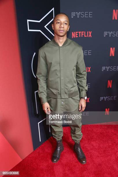 DeRon Horton attends the Netflix FYSEE Kick-Off Event at Netflix FYSEE At Raleigh Studios on May 6, 2018 in Los Angeles, California.