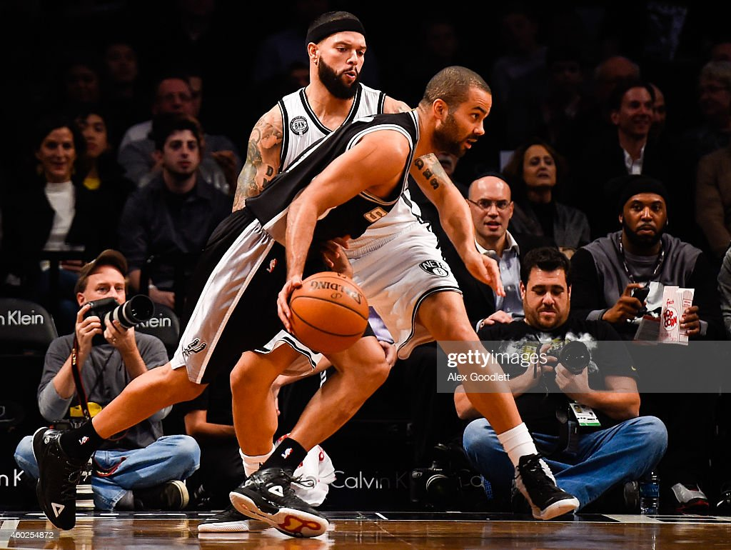 San Antonio Spurs v Brooklyn Nets