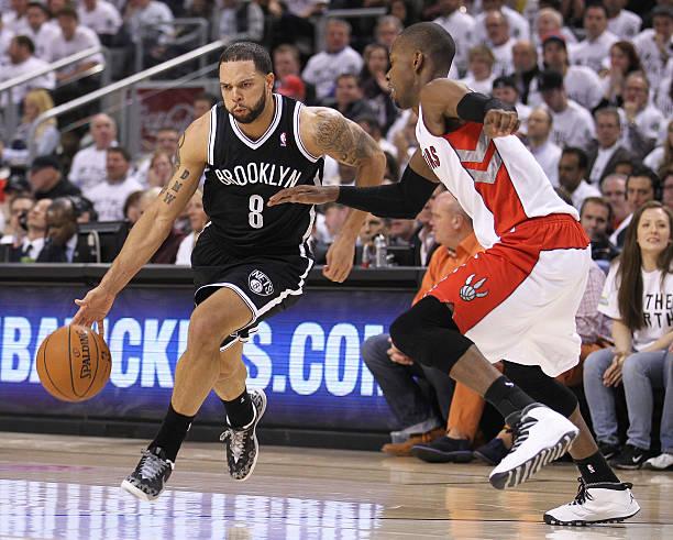 Deron Williams of the Brooklyn Nets