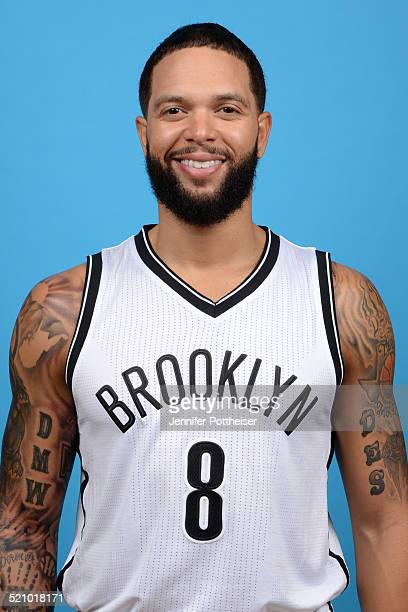 Deron Williams of the Brooklyn Nets poses for a portrait during media day on September 26 2014 at the PNY Center in East Rutherford New Jersey NOTE...