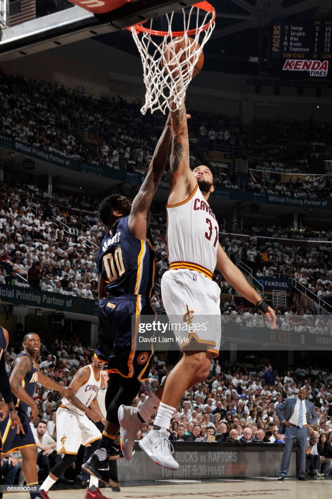 Indiana Pacers v Cleveland Cavaliers - Game One
