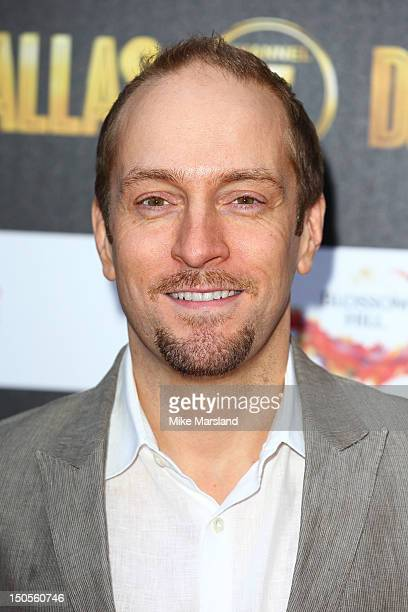 Derran Brown attends party to celebrate the new Channel 5 television series of 'Dallas' at Old Billingsgate on August 21 2012 in London United Kingdom