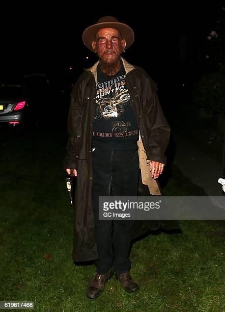 Derren Brown attends Jonathan Ross's Halloween Party on October 31 2016 in London England