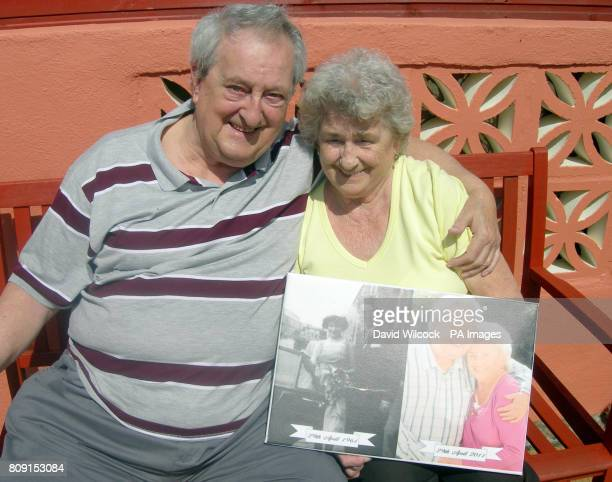 Derrick and Marie Channon from Plymouth Devon who will celebrate their golden wedding anniversary on April 29 the same day that Prince William and...