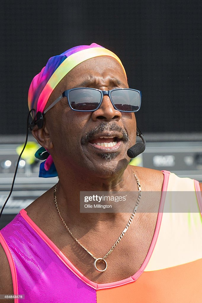 Derrick Evans Aka Mr Motivator Warms Up The Mainstage Crowd On Day News Photo Getty Images